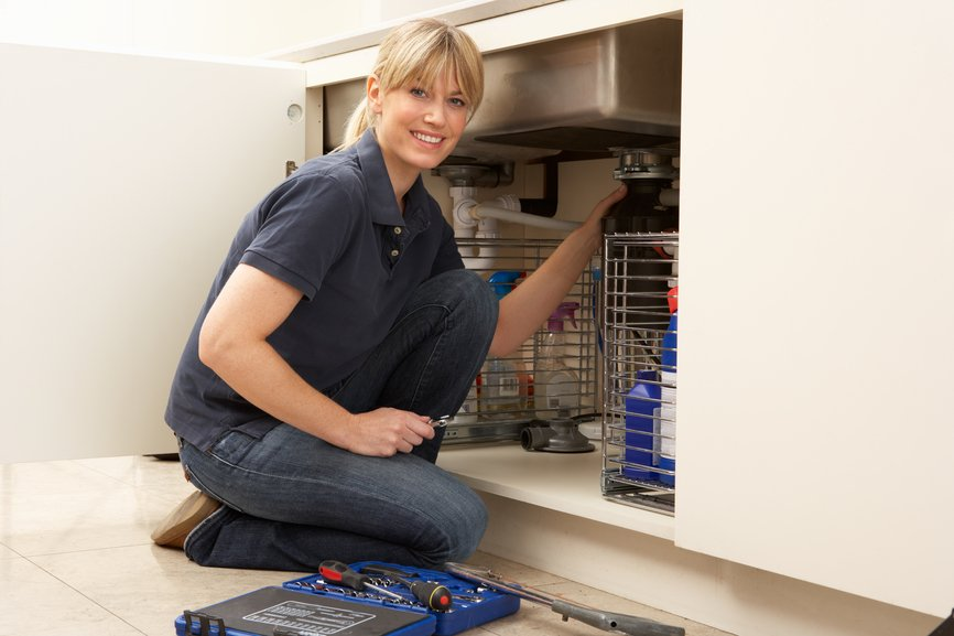 garbage disposal repair service okc